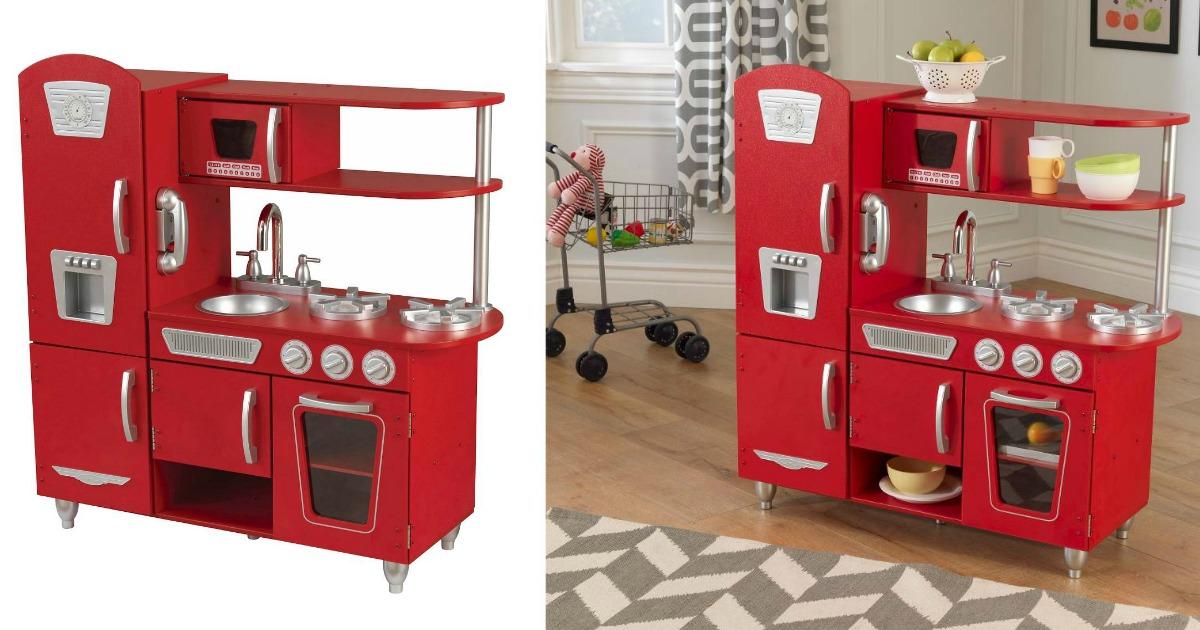 target: kidkraft retro kitchen only $70.99 shipped (best