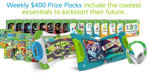 LeapFrog Sweepstakes: Enter to Win $400 LeapFrog Prize Package Every Week