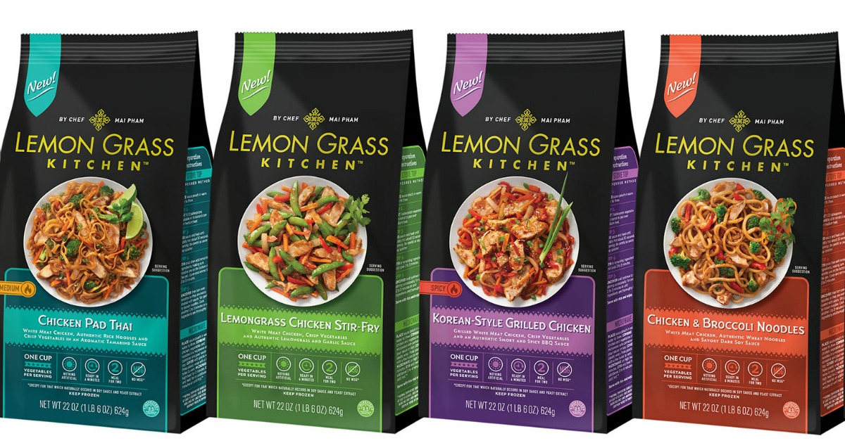 New 2 50 1 Innovasian Lemon Grass Kitchen Entree Coupon Entrees
