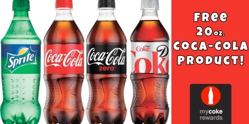 My Coke Rewards: FREE 20oz Coca-Cola When You Add My Coke Rewards to Mobile Wallet