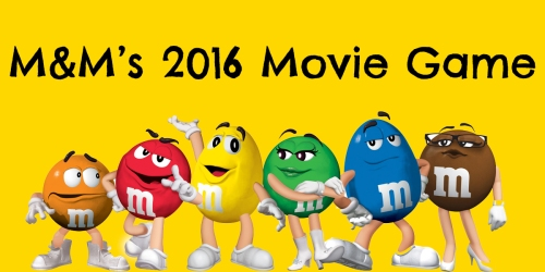 M&M's Movie Game: Enter to Win Movie Tickets or e-Movie Cash via Text (164,696 Winners)