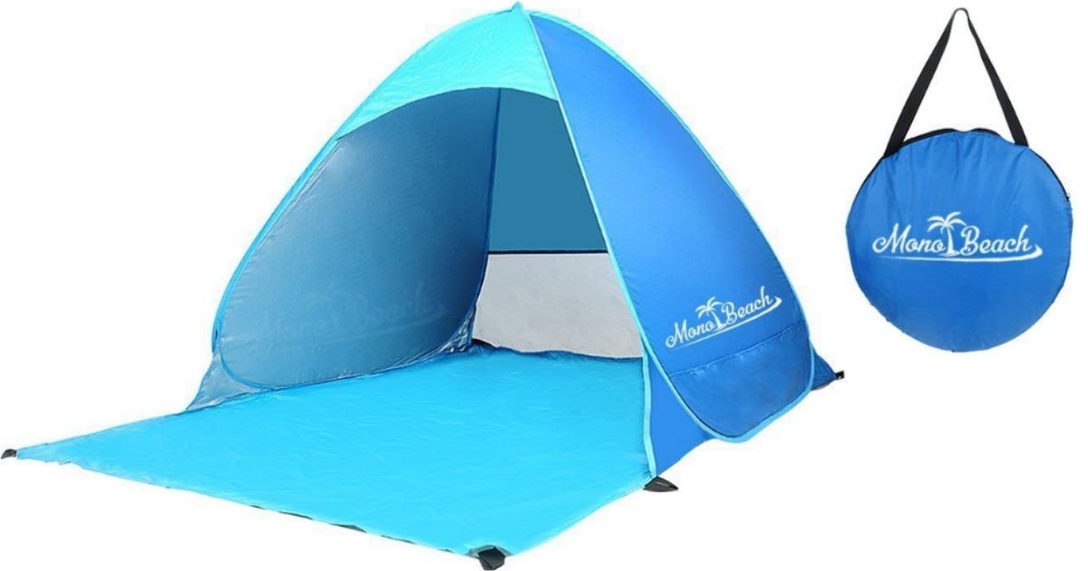 Amazon Monobeach Pop Up Beach Tent 33 99 Regularly 70