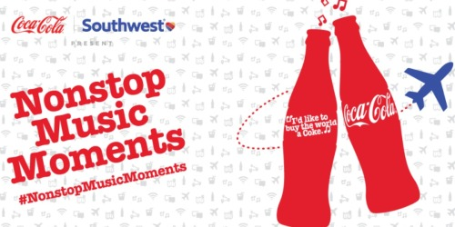 My Coke Rewards: Free Code to Enter Nonstop Music Moments Sweepstakes (2,235 Winners)