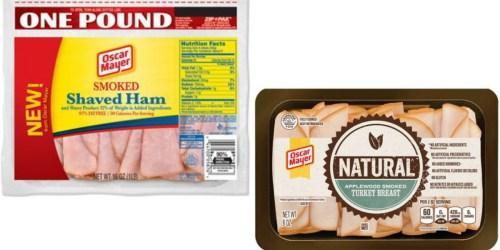 Target: Nice Deals On Oscar Mayer Lunchmeat