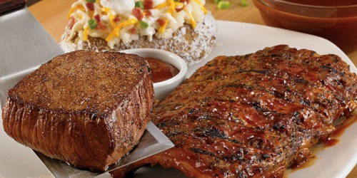 Outback Steakhouse: $5 Off 2 Dinner Entrees OR $4 Off 2 Lunch Entrees (Through 6/12)