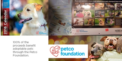 Petco: 2016 Petco Foundation Coupon & Savings Calendar Possibly Only $3 (Regularly $15)