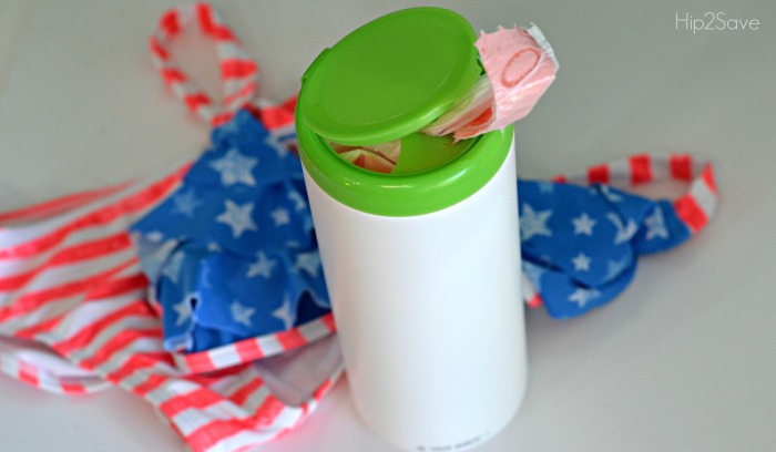 Reuse Wipes Container