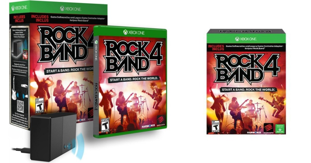 Rock Band 4 with Legacy Controller Adapter for Xbox One Only