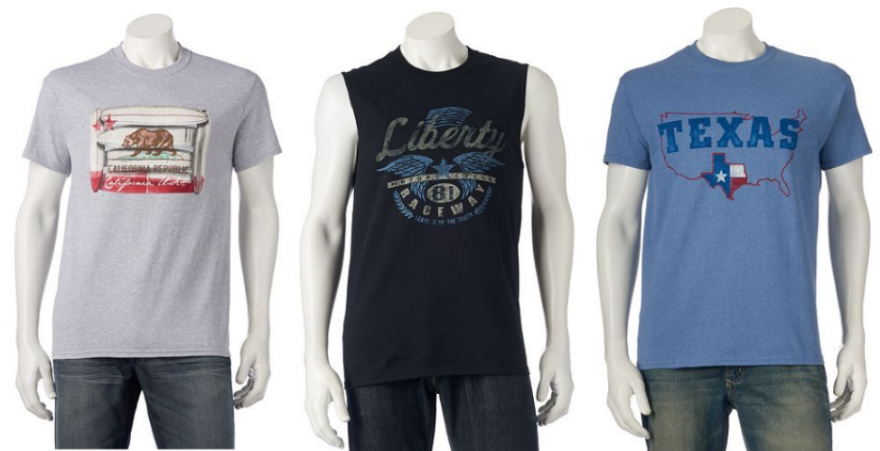 70f0f0bb8cfd7 Men s Graphic Tees or Tank Tops 2  10. Buy 8    40. Use the code DADSDAY10  ( 10 off  40) Use the code TREEBUD (15% off) Final Cost  25.50 total – just   3.19 ...