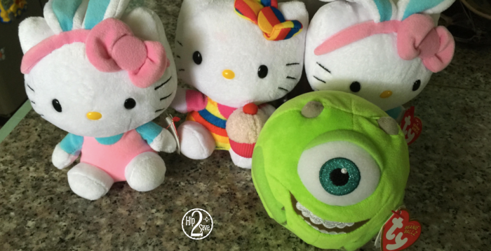 Dollar Tree Reader Find  Hello Kitty and Monster Inc. TY Beanie ... b2ba79d9362