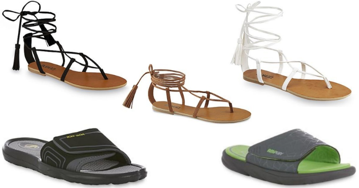 Sears: Men's and Women's Sandals Only