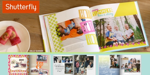 FREE 8×8 Shutterfly Photo Book Plus Cost of Shipping (Just Donate $1 To American Cancer Society)