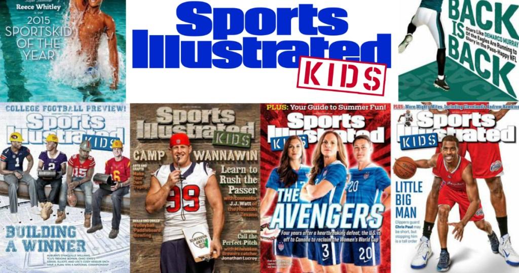 FREE Sports Illustrated Kids Magazine Subscription (Back Again