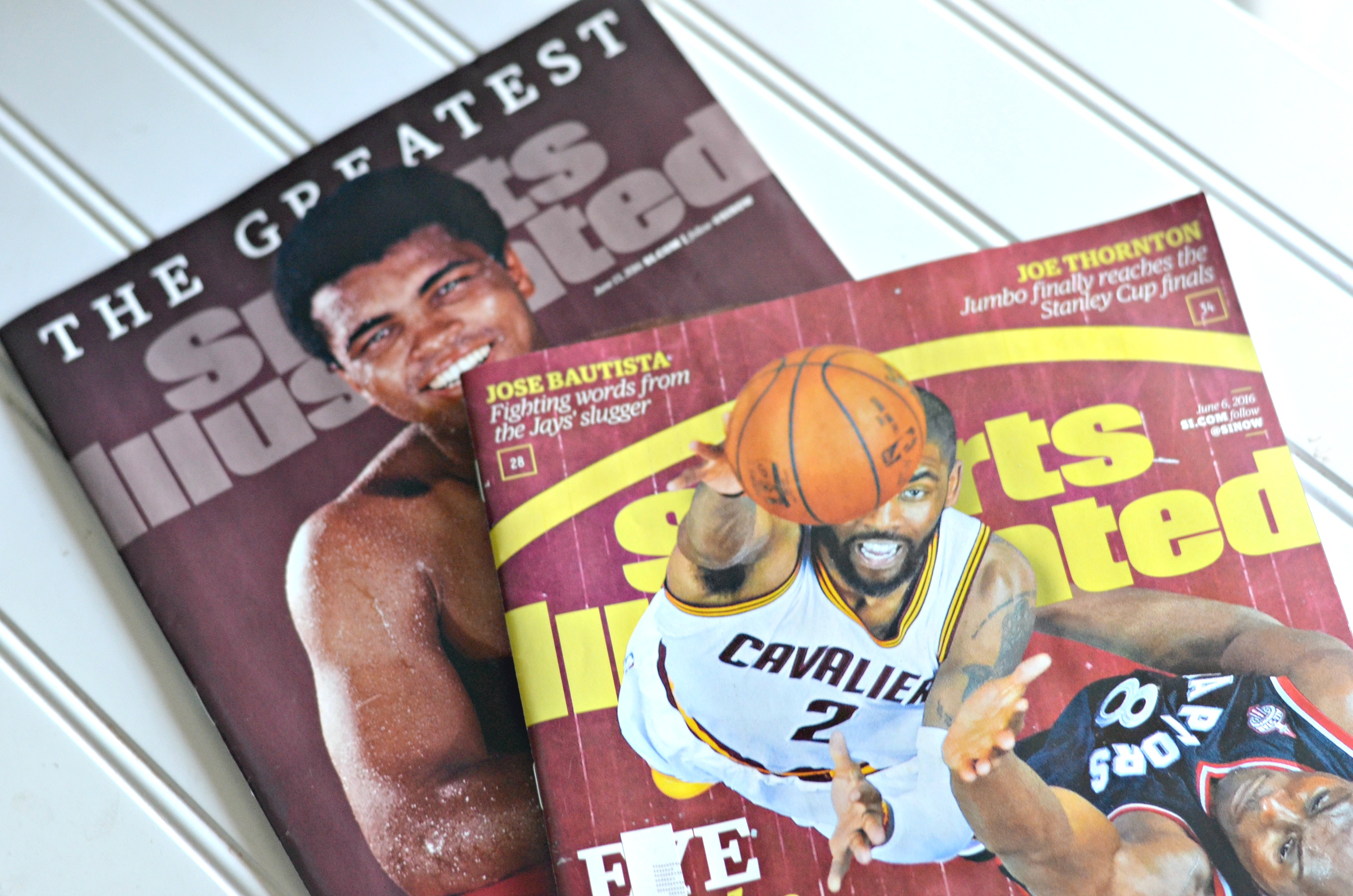 No-cost magazine deal on magazines like O, People, and (pictured) Sports Illustrated