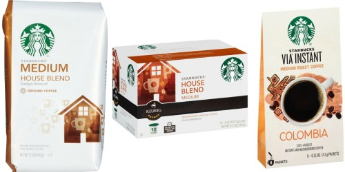 Target: Nice Savings on Starbucks Products (Starting 6/26)
