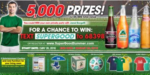 Novamex Sweeps: Enter to Win FREE T-Shirt, Soccer Ball, Refrigerator & More (5,056 Winners)