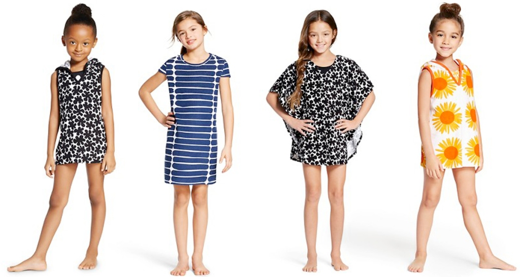 45c0a537d5b Head on over to Target.com to score Marimekko Girls' Swim Cover Ups for as  low as $5.08 (regularly $16.99). You may be able to opt for free in-store  pickup ...