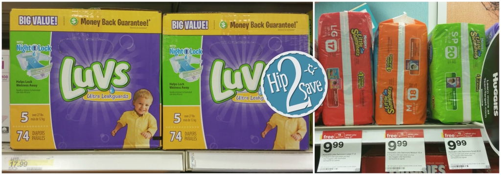Target Hot Deals On Pampers Amp Luvs Diapers Huggies