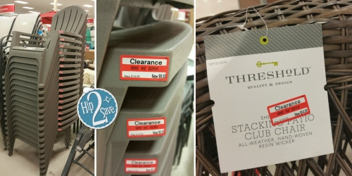 Target: 30-70% Off Patio & Garden Clearance + 10% Off Cartwheel = $8.55 Adirondack Chairs & More