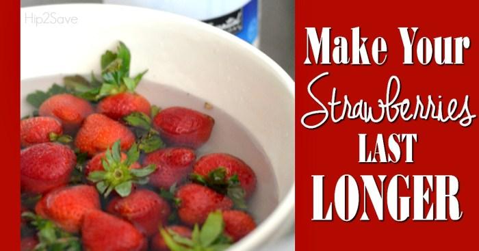 Tip for Making Strawberries Last