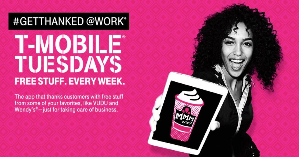 It's T-Mobile Tuesday! Win FREE Wendy's Frostys, FandangoNOW