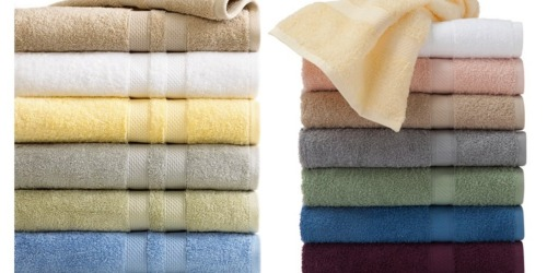 Macy's: Sunham & Martex Bath Towels Starting at $4.22 (Regularly $14)