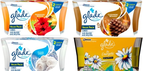 Target: Glade Candles As Low As 35¢ (After Checkout 51 Cash Back)