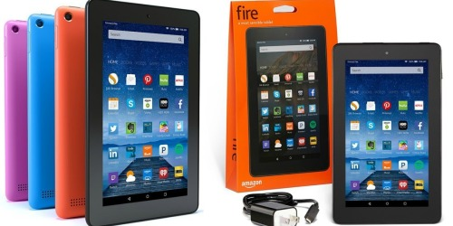 Amazon Fire Tablet 7″ 8 GB w/ Special Offers Only $39.99 (Reg. $49.99) + Nice Deal on Fire TV
