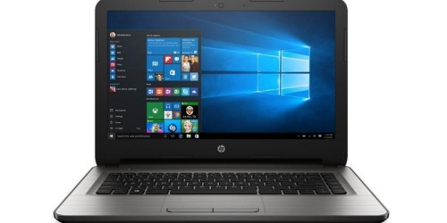 Amazon: HP 14-Inch Notebook 4GB RAM, 32 GB Hard Drive Only $219.99 Shipped (Pre-Order)
