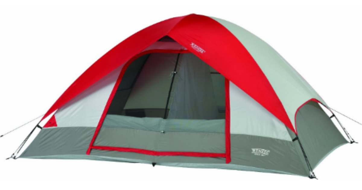 Wenzel Tent  sc 1 st  Hip2Save & Amazon: 50% Off Wenzel Tents u003d 5-Person Tent Only $59.99 Shipped ...