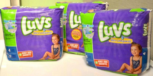 *NEW* $2/1 Luvs Diapers Coupon = Only $3 at Walmart & Target After Checkout 51 Rebate
