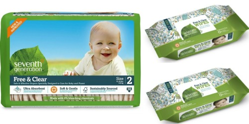 Amazon: 30% Off Seventh Generation Products = Nice Deals on Diapers, Wipes & More