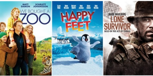 Amazon Instant Video: Buy Digital HD Movies for $4.99 (We Bought a Zoo, Happy Feet & More)