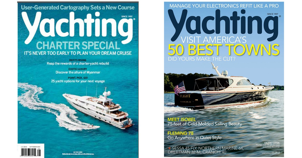 FREE 1-Year Subscription to Yachting Magazine