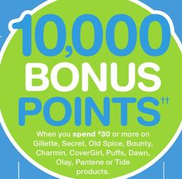 10,000 Bonus Points Promo