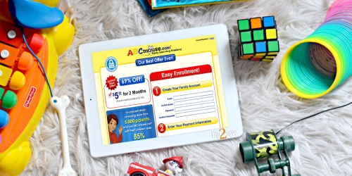ABCmouse: ONLY $2.50 Per Month for Over 7,000 Learning Activities & Lesson Plans