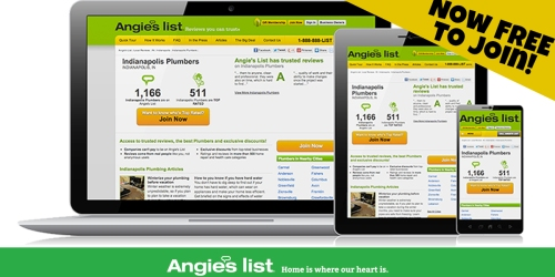 Angie's List Consumer Review Website Now Offering FREE Memberships