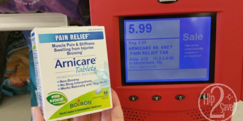 Target: Better Than FREE Boiron Arnicare Pain Relief Tablets