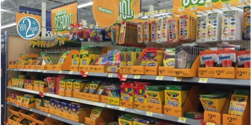 Walmart: Back To School Supplies As Low As 17¢