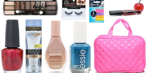 Beauty Items Starting at Just $1 (OPI & Essie Nail Polish, Cosmetic Brush Sets & More)