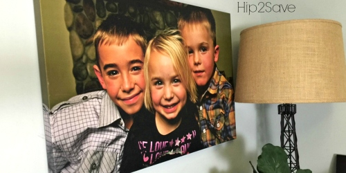 Simple Canvas Prints: 12″ x 18″ Photo Canvas Print Only $19.99 Shipped & More