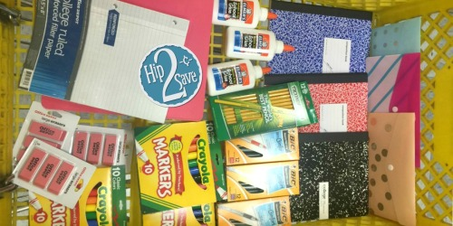 Score 21 School Supplies at Office Depot/Max for $5 (Elmer's Glue, Crayola Markers & More)