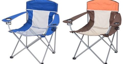 Walmart: Ozark Trail XXL Steel Frame Comfort Mesh Chair Only $15 (Regularly $24.97)