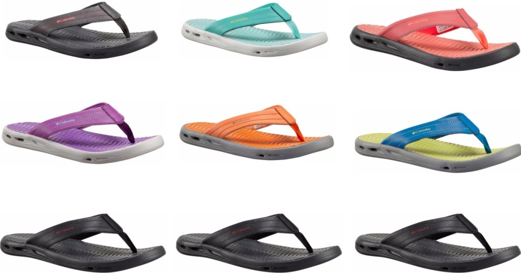 79cfd43bdd62 Columbia  Women s or Men s Vent Cush Flip Sandal ONLY  14.98 Shipped ...
