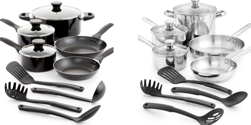 Macy's: Tools of the Trade Nonstick Or Stainless Steel 12 Piece Cookware Set $25.49 (Regularly $119.99)