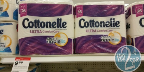 New Cottonelle & Kleenex Coupons = Nice Deals at Target