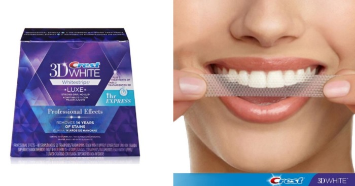Amazon Prime Crest 3d Whitestrips Professional Kit Only 29 50