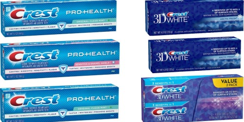 Regional $2/1 Crest Toothpaste Coupon = FREE Toothpaste at CVS + More