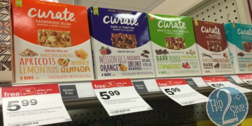 Target: Curate Snack Bars Only $2.52 Per Box (Regularly $5.99)
