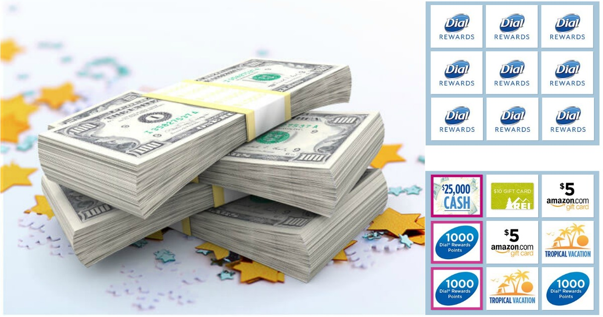 Dial Rewards Instant Win Game (750,000 Prizes Including Gift